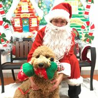 Holiday Party Photos with Santa